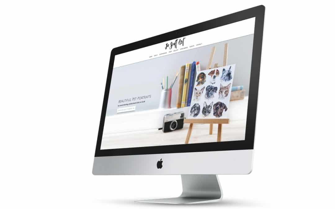 Jo Scott Art – a client success story